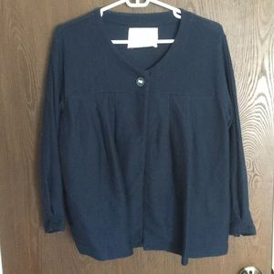 Anthropologie Saturday Sunday navy cardigan M
